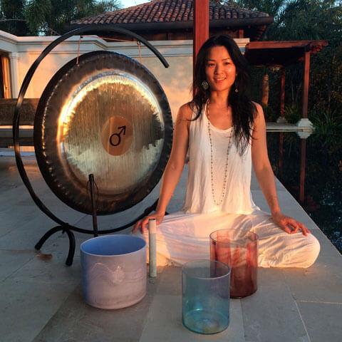 Ayi Wong Bio - Shanti Sounds Sound Journeys & Retreats