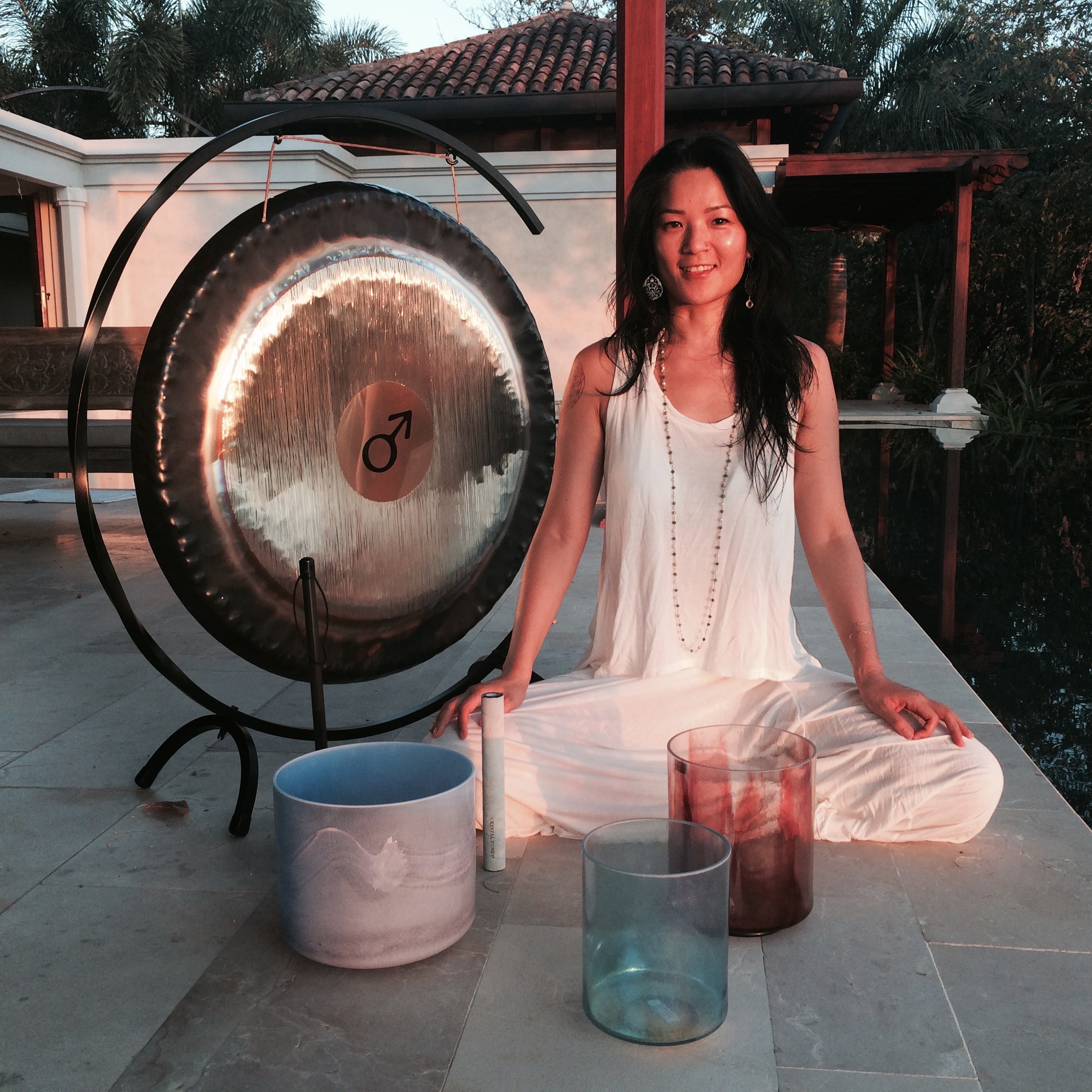Join Shanti Sounds for Yoga and Healing Sound at Blue Spirit Costa Rica
