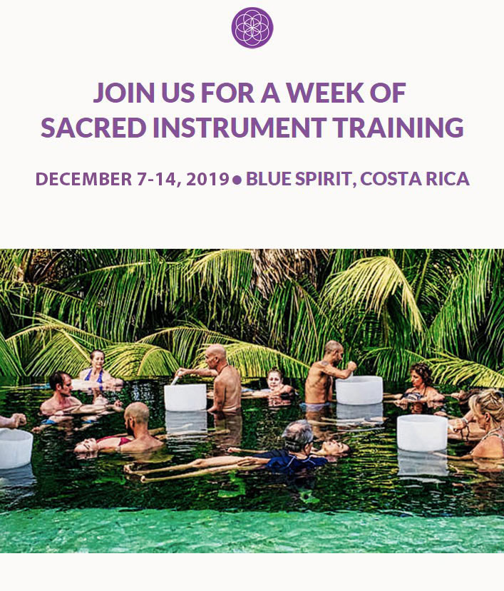Sacred Instrument Training