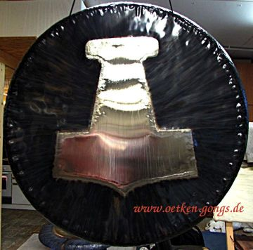 Oetken Gongs at Shanti Sounds in Costa Rica