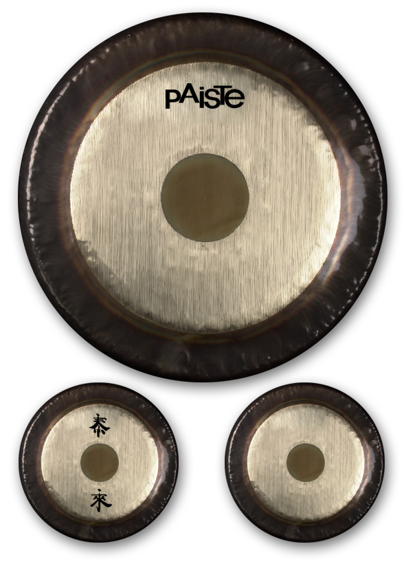 Paiste Symphonic Gongs at Shanti Sounds in Costa Rica